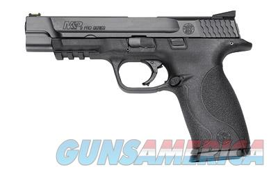 "Smith & Wesson M&P, Pro Series, Semi-Automatic, Striker Fired, Full Frame, 9MM, 5"" Barrel, Polymer Frame, Black Finish, Fiber Optic front Sight, 17 Rounds, 2 Magazines 178010  Guns > Pistols > Smith & Wesson Pistols - Autos > Polymer Frame"