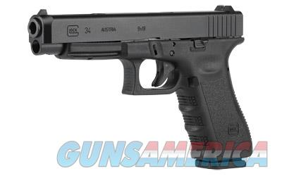 GLOCK 34 9MM PRACTICAL/TACTICAL 17RD - Free Shipping - No CC Fee!  Guns > Pistols > Glock Pistols > 34