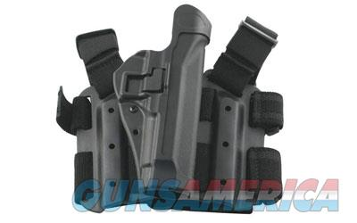 BLACKHAWK! Level 2 Tactical SERPA Holster, Fits Glock 17/19/22/23/31/32, Right Hand, Black 430500BK-R  Non-Guns > Holsters and Gunleather > Other
