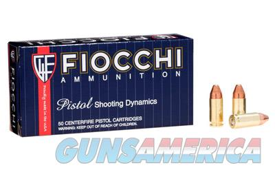 Fiocchi Ammunition Centerfire Pistol, 9MM, 124 Grain, Copper Metal Jacket, 50 Round Box 9APCMJ  Non-Guns > Ammunition