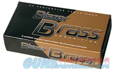 CCI/Speer Blazer Brass, 380ACP, 95 Grain, Full Metal Jacket, 50 Round Box 5202  Non-Guns > Ammunition