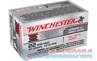 WIN SPRX 22WMR 40GR FMJ 50/2000  Non-Guns > Ammunition