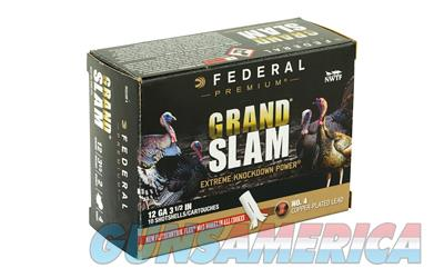 "FED GRAND SLAM 12GA 3.5"" 2OZ #4 10/5  Non-Guns > AirSoft > Ammo"