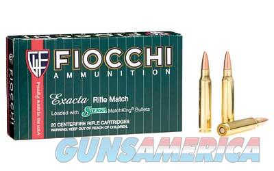 Fiocchi Ammunition Rifle, 223 Remington, 77 Grain, Hollow Point Boat Tail Match King, 20 Round Box 223MKD  Non-Guns > Ammunition