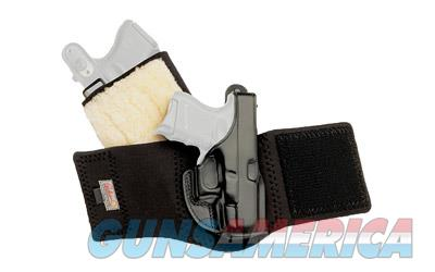 Galco Ankle Glove Ankle Holster, Fits Kahr P9/40/PM9, Right Hand, Black Leather AG290  Non-Guns > Holsters and Gunleather > Other