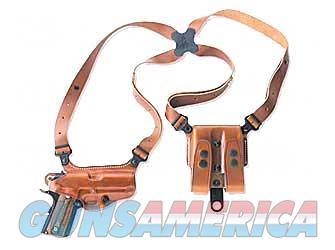 "Galco Miami Classic Shoulder Holster, Fits Colt Government With 5"" Barrel, Right Hand, Tan Leather MC212  Non-Guns > Holsters and Gunleather > Other"