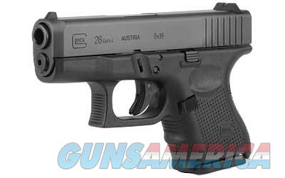 GLOCK 26 GEN4 9MM 10RD - Free Shipping - No CC Fee  Guns > Pistols > Glock Pistols > 26/27