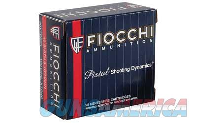 Fiocchi Ammunition Centerfire Pistol  40S&W  155 Grain  XTP  25 Round Box 40XTPB25 - $9 Flat Rate Shipping on ANY Size Order  Non-Guns > Ammunition
