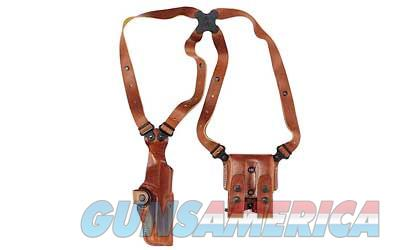 "Galco Vertical Shoulder Holster System, Fits 1911 With 5"" Barrel, Ambidextrous, Tan Leather VHS212  Non-Guns > Holsters and Gunleather > Other"