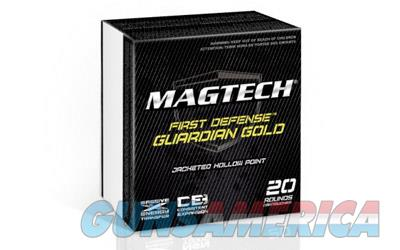 Magtech Guardian Gold, 9MM, 115 Grain, Jacketed Hollow Point, +P, 20 Round Box GG9A  Non-Guns > Ammunition