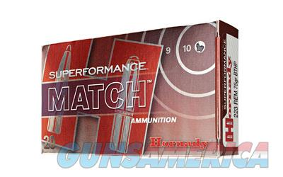 Hornady SuperFormance, 223REM, 75 Grain, Boat Tail, Hollow Point, Match, 20 Round Box 80264  Non-Guns > Ammunition