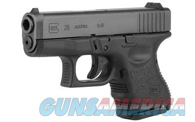 GLOCK 26 9MM SUBCOMP 10RD - Free Shipping - No CC Fee  Guns > Pistols > Glock Pistols > 26/27