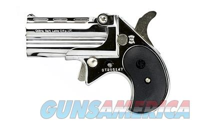 COBRA ENT BIG BORE 38SPL CHROME BLK  Guns > Pistols > Cobra Derringers