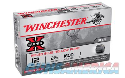 "Winchester Super-X, 12 Gauge, 2.75"", 1oz., Slug, 5 Round Box X12RS15  Non-Guns > Ammunition"