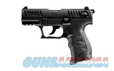 "WAL P22 22LR 3.4"" BLK 1-10RD CA  Guns > Pistols > Walther Pistols > Post WWII > P22"