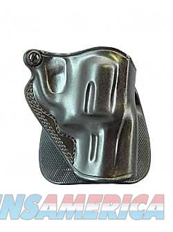Galco Speed Paddle Holster, Fits J Frame, Right Hand, Black Leather SPD158B  Non-Guns > Holsters and Gunleather > Other