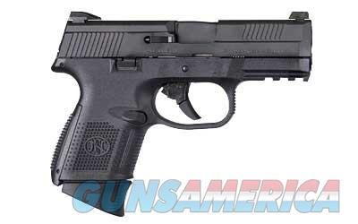 "FN America FNS-40C .40SW 3.6"" Barrel 10rd & 14rd Black Finish With Night Sights 66722 - 3 Magazines - New In Box  Guns > Pistols > FNH - Fabrique Nationale (FN) Pistols > FNS"
