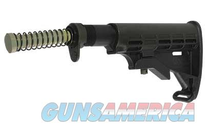 Tapco, Inc. Stock, Fits AR-15 6 Position with Buffer/Spring, Black Finish 16761  Non-Guns > Gun Parts > Stocks > Polymer