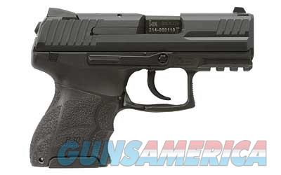 "HK P30 SubKompact, V1-Double Action Only, Semi-automatic Pistol, 9MM, 3.27"" Barrel, Polymer Frame, Black Finish, Adjustable Grip, Night Sights, 10Rd, 3 Magazines 730901KLE-A5  Guns > Pistols > Heckler & Koch Pistols > Polymer Frame"