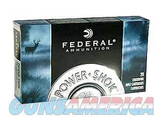 Federal PowerShok, 35REM, 200 Grain, Soft Point, 20 Round Box 35A  Non-Guns > Ammunition