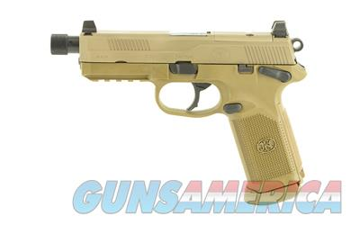FN FNX-45 TACT 45ACP 15RD FDE NS MS  Guns > Pistols > FNH - Fabrique Nationale (FN) Pistols > FNX