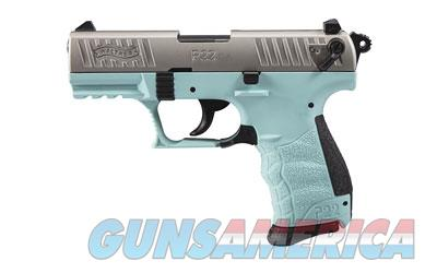 "WAL P22 22LR 3.4"" ANGEL BLUE 10RD CA  Guns > Pistols > Walther Pistols > Post WWII > P22"