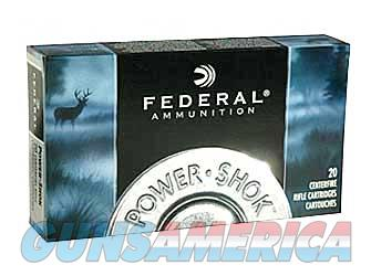 Federal PowerShok  243WIN  80 Grain  Sierra  20 Round Box 243AS - $9 Flat Rate Shipping on ANY Size Order  Non-Guns > Ammunition