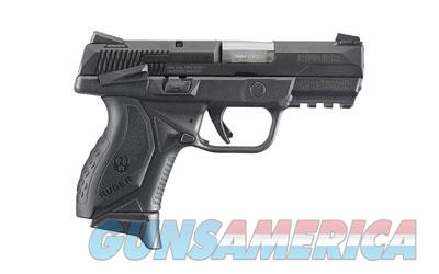 "RUGER AMERICAN 9MM 3.5"" BLK 10RD MA  Guns > Pistols > Ruger Semi-Auto Pistols > P-Series"