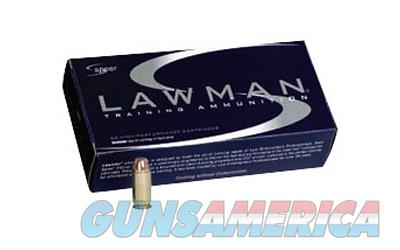 CCI/Speer Speer Lawman  380ACP  95 Grain  Total Metal Jacket  50 Round Box 53608 - $9 Flat Rate Shipping on ANY Size Order  Non-Guns > Ammunition
