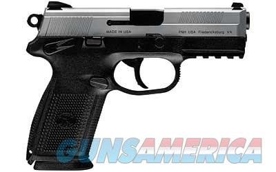 "FN FNX-9 9MM 10RD 4"" STS POLY FS 3MG  Guns > Pistols > FNH - Fabrique Nationale (FN) Pistols > FNX"