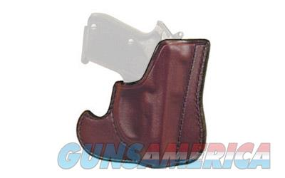 Don Hume 001 Front Pocket Holster, Fits Glock 43, Ambidextrous, Brown Leather J100306R  Non-Guns > Holsters and Gunleather > Other