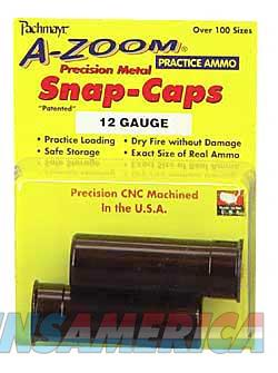 AZOOM SNAP CAPS 12GA 2/PK  Non-Guns > Miscellaneous