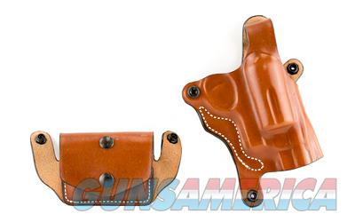 DESANTIS NY U/C DBL PCH GVNR RH TAN  Non-Guns > Holsters and Gunleather > Other