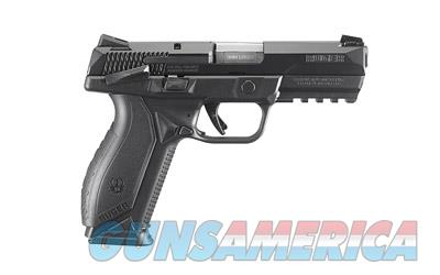 "RUGER AMERICAN 9MM 4.2"" 17RD BLK TS  Guns > Pistols > Ruger Semi-Auto Pistols > P-Series"
