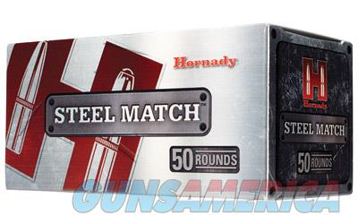 Hornady Steel Match, 9MM, 125 Grain, HAP, 50 Round Box 90275  Non-Guns > Ammunition