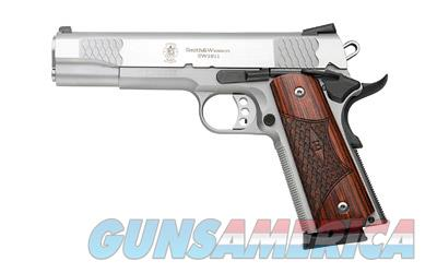 "S&W 1911 E 45ACP 8RD 5"" STS WD 3DOT  Guns > Pistols > Smith & Wesson Pistols - Autos > Polymer Frame"
