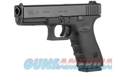 GLOCK 20SF 10MM 15RD GLOCK RAIL - Free Shipping - No CC Fee!  Guns > Pistols > Glock Pistols > 20/21