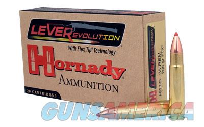 Hornady LeverEvolution, 35 Remington, 200 Grain, FlexTip, 20 Round Box 82735  Non-Guns > Ammunition