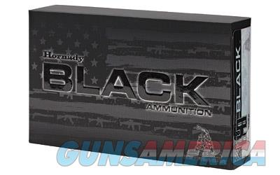 Hornady BLACK, 556NATO, 75 Grain, Interlock HD SBR, 20 Round Box 81296  Non-Guns > Ammunition