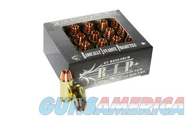G2 Research RIP, 40 S&W, 115 Grain, Lead Free Copper, 20 Round Box 00030  Non-Guns > Ammunition