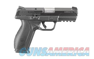 "RUGER AMERICAN 9MM 4.2"" 10RD BLK  Guns > Pistols > Ruger Semi-Auto Pistols > P-Series"