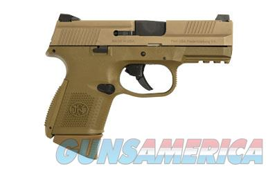 FN FNS-9C 9MM 1-12RD 1-17RD FDE - Free Shipping - No CC Fee  Guns > Pistols > FNH - Fabrique Nationale (FN) Pistols > FNS