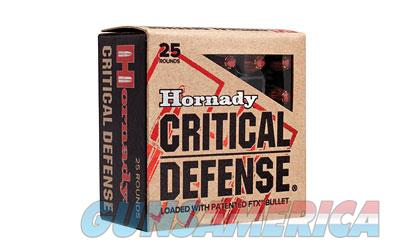 Hornady Critical Defense, 357MAG, 125 Grain, Hollow Point, 25 Round Box 90500  Non-Guns > Ammunition