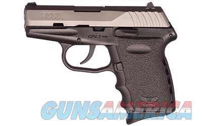 "SCCY CPX-2 9MM 10RD 2TONE 3.1"" 3DOT - Free Shipping - No CC Fee  Guns > Pistols > SCCY Pistols > CPX2"