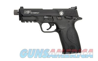 "Smith & Wesson M&P 22 Compact .22lr 3.6"" Barrel With Threaded Adapter 10rd Black Finish 10199 - New In Box  Guns > Pistols > Smith & Wesson Pistols - Autos > .22 Autos"