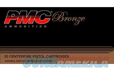 PMC Bronze 380ACP, 90 Grain Full Metal Jacket, 50 Round Box 380A  Non-Guns > Ammunition