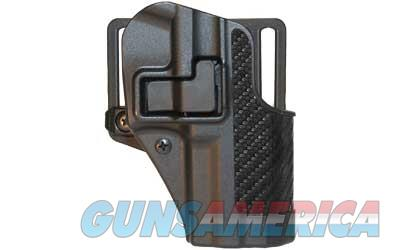 BLACKHAWK! CQC SERPA Holster With Belt and Paddle Attachment, Fits Ruger SR9, Right Hand, Carbon Fiber, Black 410041BK-R  Non-Guns > Holsters and Gunleather > Other