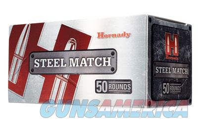 Hornady Steel Match, 223REM, 75 Grain, Boat Tail Hollow Point, Steel Case, 50 Round Box 80261  Non-Guns > Ammunition