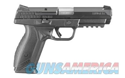 "RUGER AMERICAN 45ACP 4.5"" 10RD BLK  Guns > Pistols > Ruger Semi-Auto Pistols > P-Series"