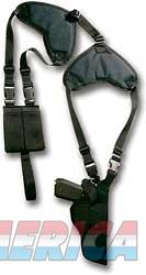 "Bulldog Cases Deluxe Pro Shoulder Holster, Fits Compact Auto Handgun With 3"" Barrel, Ambidextrous, Black WSHD 20  Non-Guns > Holsters and Gunleather > Other"
